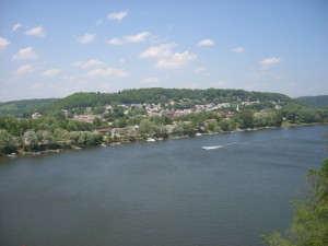 View of Allegheny River and Freeport